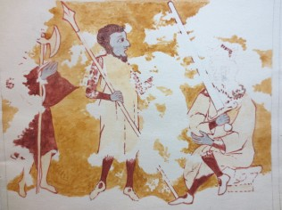 www.headingtonheritage.org.uk Medieval Murals St Andrews Herod bids the Soldiers to kill the Children M.S. Top. Oxon c.197 f.6l