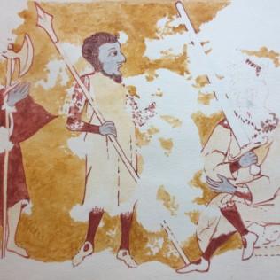 www.headingtonheritage.org.uk Medieval Murals St Andrews Herod bids the Soldiers to kill the Children M.S. Top. Oxon c.197 f.6l