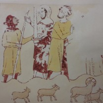 www.headingtonheritage.org.uk Medieval Murals St Andrews The Escape - The Miracle Of The Cornfield M.S. Top. Oxon c.197 f.7r