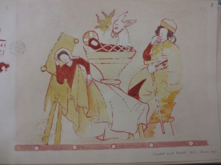 www.headingtonheritage.org.uk Medieval Murals St Andrews The Nativity M.S. Top. Oxon c.197 f.3r