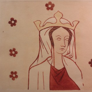 www.headingtonheritage.org.uk Medieval Murals St Andrews The Queen Margaret Of France? - The Miracle Of The Cornfield M.S. Top. Oxon c.197 f.7l