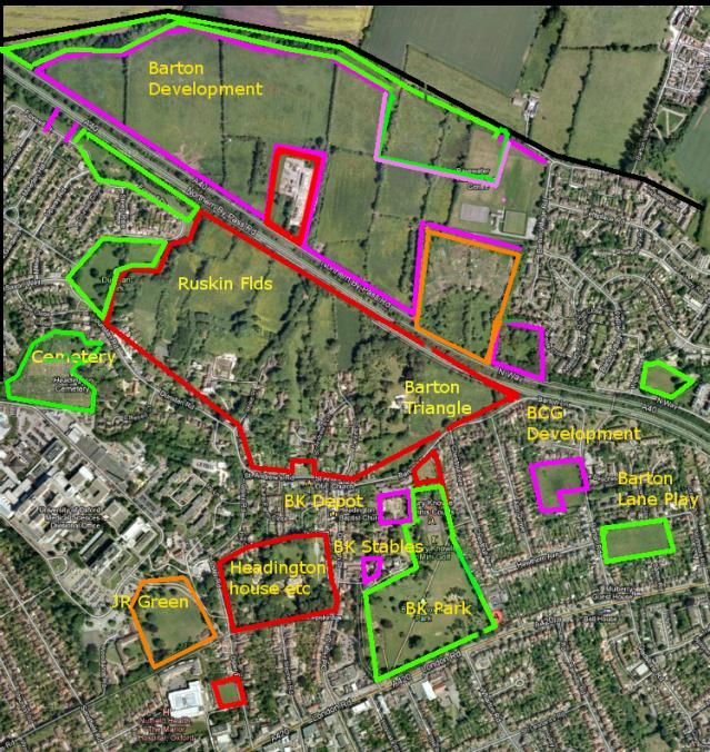 Headington and Barton Urban Villages - Current