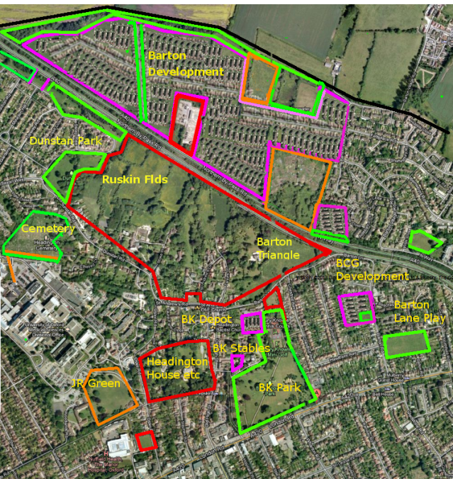 Headington and Barton Urban Villages - 2016