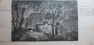www.headingtonheritage.org.uk - J. Malchair, W. Crotch and Headington in 1798, Oxford University, Shelfmark: M.S. Top. Oxon .c 475 f.34