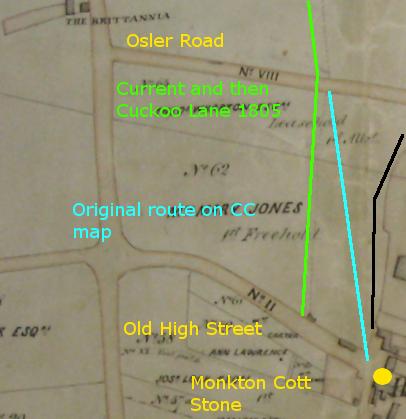 Cuckoo Lane Route