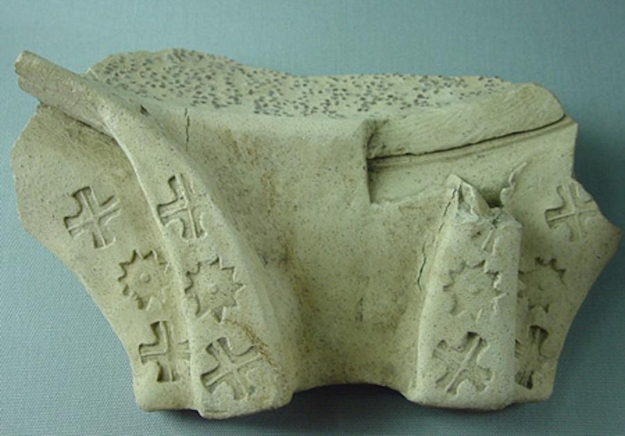 www.headingtonheritage.org.uk/romanpottery Oxford Headington Roman Pottery at the Churchill Hospital Parchment Ware Headington headingtonheritage.wordpress.com/romanpottery roman kiln